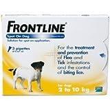 Frontline Spot-On For Dog - 2kg To 10kg x 6