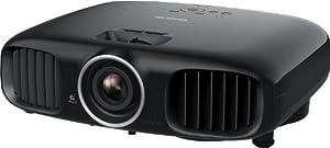 Epson EH-TW6000 3D LCD-Projektor (Kontrast 40.000:1, 2.200 ANSI Lumen, Full-HD 1920 x 1080 Pixel) schwarz