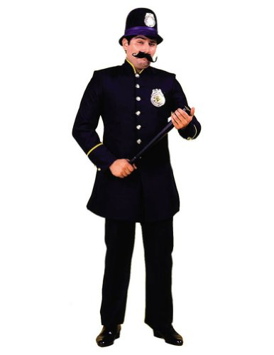 Keystone Cop Costume Md Adult Mens Costume