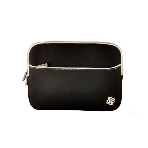 KOZMICC Black Sleeve Pouch for eReader Devices: iPad Mini, Nook HD 7″, Google Nexus 7 Tablet, Barnes & Noble Nook Tablet, Nook Color, Nook, Blackberry Playbook, Kobo, Amazon Kindle Keyboard 3, Kindle Fire HD 7 etc.