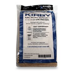 Kirby® Genuine Micron Magic® Filter Bags 3 PK + 3 FREE Kirby Belts