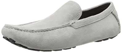 Bugatchi Uomo Men's Picasso Slip-On Loafer,Platinum,9 M US