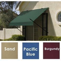 Sunsational Designer Awning - 6 Foot - Pacific Blue (Pacific Blue) (6' Long)