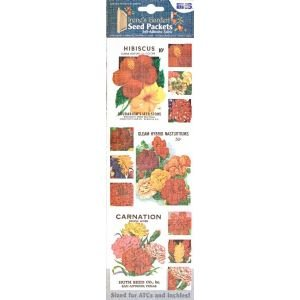 12 PACK FABRIC SEED PACK STIX RED/YEL Drafting, Engineering, Art (General Catalog)