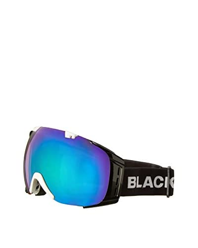 Black Crevice Máscara de Esquí Negro / Blanco
