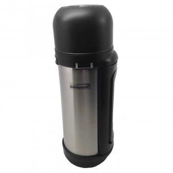 Brentwood 1.5L Vacuum S/S Bottle With Shoulder Strap front-380146