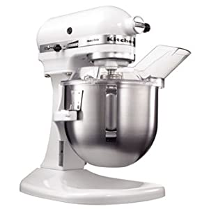 Kitchenaid K5 Commercial Food Mixer 4.8 litre. - Supplied with flat beater, dough hook and wire whisk. from KitchenAid