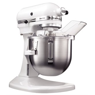 Kitchenaid K50 Commercial Mixer White finish.