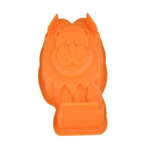 Lion Shaped Cake / Mousse / Pudding Mold, Silicone Mold Microwave Oven