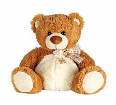 Light Brown Sitting Bear 8
