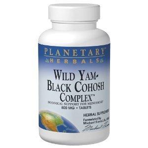 Planetary Formulations - Wild Yam-Black Cohosh Comp., 120 Tablets
