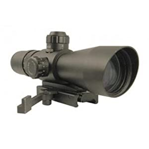 Nc Star Mark III Tactical Scope with Green Dot Sight, 4X32