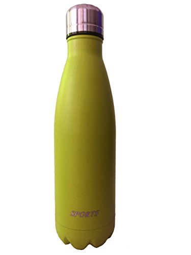 Vacuum Flask Double Wall Stainless Steel Insulated Water Bottle-17oz (Inexpensive Juicers compare prices)