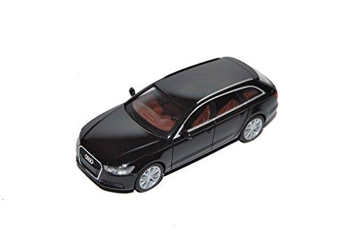 Audi-A6-C7-Avant-Kombi-Schwarz-Ab-2011-H0-187-Herpa-Modell-Auto-mit-individiuellem-Wunschkennzeichen