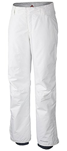 Columbia Sportswear Women's High Volt II Pant, White, Large/Short