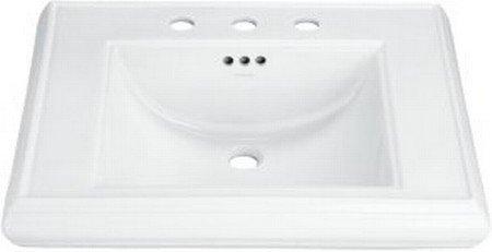 Buy KOHLER Memoirs Pedestal Lavatory Basin, Biscuit #K-2259-8-96 (Kohler Sinks, Plumbing, Sinks, Bathroom, Pedestal)