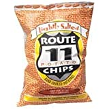 Route 11 Potato Chip Lightly Salted, 2-Ounce Bags (Pack of 30)