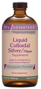 Colloidal Silver (250ppm) 2oz - Dr's Advantage
