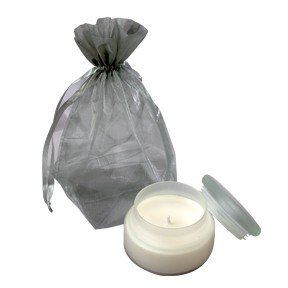 Hive Natural Silk' Candle - Frosted Glass Jar 260g - SOL3110 from Hive
