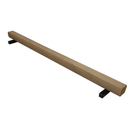 The Beam Store Tan Suede Gymnastics Balance Beam (8-Feet)