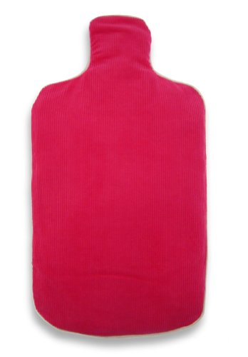 Aroma Home Hot Bottle Body Warmer - Pink Pin Cord