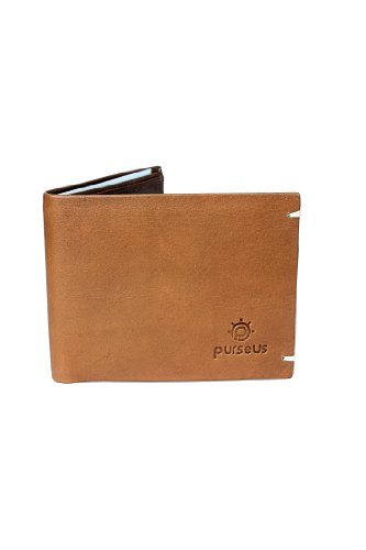 Purseus Dandy Culture Men's Wallet - Tan (beige\/sand\/tan)