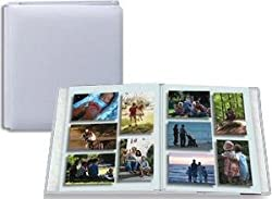 Family Treasures Deluxe 12x15 Snow-White Scrapbook by Pioneer -