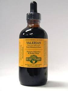 Herb Pharm Valerian Extract Supplement, 4 Ounce