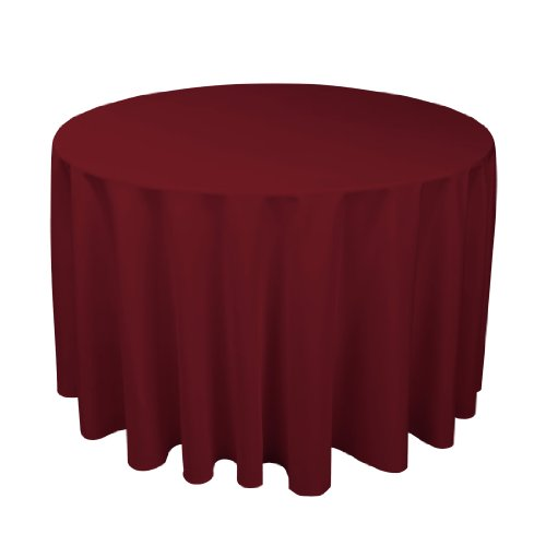 108 Inch Round Polyester Tablecloth