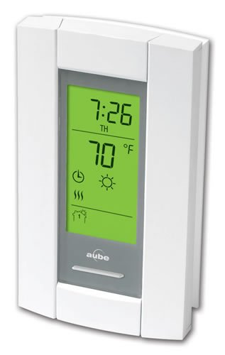 Honeywell Radiant Heating 120/240V Programmable Thermostat with Floor Sensor and GFCI (TH115-AF-GA)