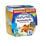 Nestlé naturnes bols légumes ratatouille riz 2x200g dès 8 mois