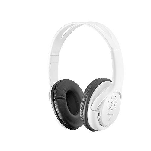 Impecca Bluetooth Headphone, White (HSB-120BTW)