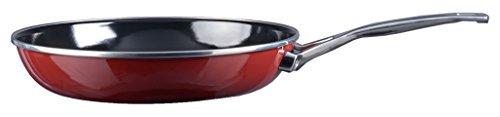Kochstar 45003024 Copper Core Cookware Casserole avec Manche Sans Couvercle en Bordeaux/ Rouge 24 cm