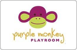 Purple Monkey Playroom Gift Certificate ($200)