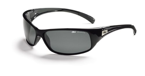 Bolle Sport Recoil Sunglasses (Shiny Black/Polarized TNS)