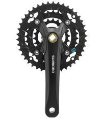 Buy Low Price ACTION CRANKSET MT SHIMANO M361 ACERA 42T 170MM BLACK (B001OHGOB2)