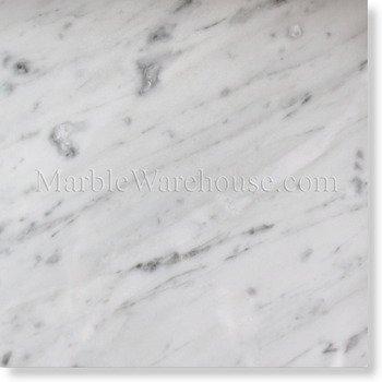 Carrara White 12 X 12 Marble Polished Tile