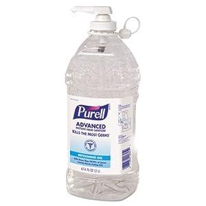 Purell Instant Hand Sanitizer Economy Size 2000ml Refill Bottle w/ Pump
