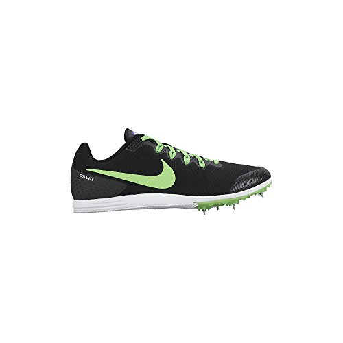 Men's Nike Zoom Rival D 9 Track Spike Black/Fierce Purple/Green Strike Size 12 M US (Spikes Running Nike Rival D compare prices)