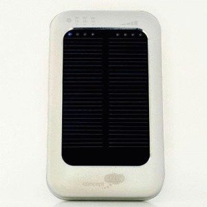 Concept Green Energy Solar Charger 3600 mAh Silver