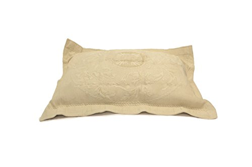 Cody Direct Oslo King Sham, White