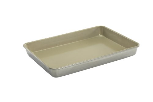 Nordic Ware Non-stick Hi-side Sheet Cake Baking Pan, 13 by 18 by 2 Inch