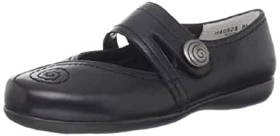 Ros Hommerson Women's Flavor Mary Jane Flat,Black Leather,7 WW US
