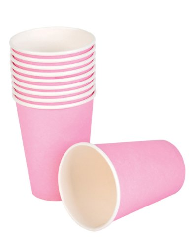 Pink Paper Cups (25 pc)