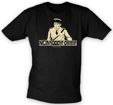 Louis de Funes T-Shirt no! MA! WOW! Gendarmi taglia L