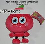 "Moshi Monsters - Moshling 5"" Soft Toy - Cherry Bomb - Vivid Imaginations"