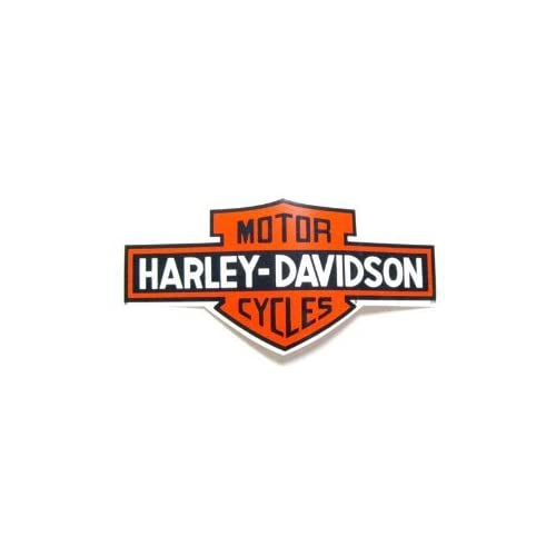 Harley Davidson ~ Bar And Shield ~ Outside Sticker ~ Approx 10 x 5 Inches
