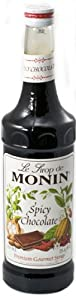 Monin Spicy Chocolate Formerly Mayan Chocolate Syrup 750ml Bottle by Monin