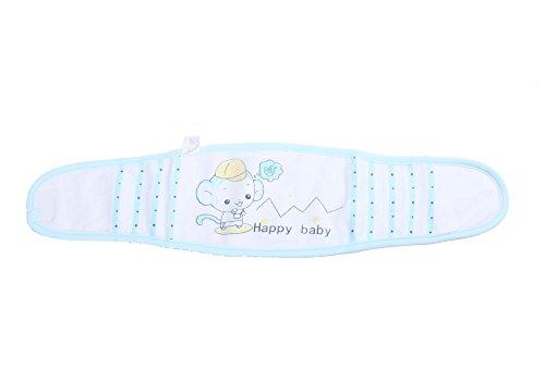 niceEshop(TM) Double Layer Baby Infant Pure Cotton Umbilical Cord Umbilical Hernia Truss,Random Color