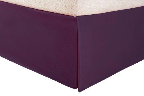 Purple Bedskirt Queen